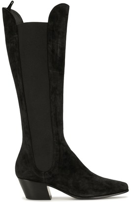 KHAITE Chester calf-length boots