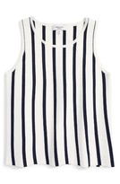 Milly Minis Girl's Stripe Knit Tank