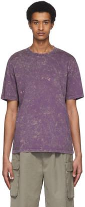 Tibi Purple Tie-Dye T-Shirt