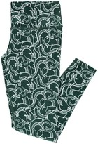 Unbranded Women's ZooZatz Green Michigan State Spartans Plus Size Stacked Legging