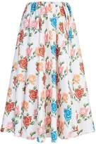 Emilia Wickstead Floral Print Skirt