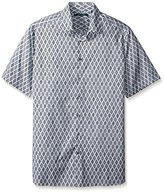 Perry Ellis Men's Big and Tall Diamond Dot Print Shirt