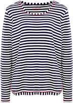 Backstage Striped Long Sleeved Top