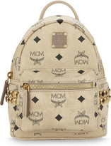 MCM Stark stud detail extra-mini backpack
