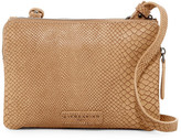Liebeskind Berlin Karen Snake Embossed Leather Crossbody
