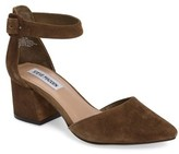 Steve Madden Women's Dainna D'Orsay Ankle Strap Pump