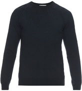 Balenciaga Round-neck Embossed Sweater