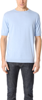 John Smedley Belden Crew Neck Sea Island Cotton Tee