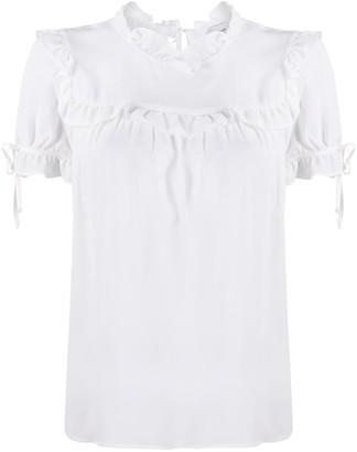 Dondup ruffled details blouse