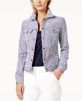 Trina Turk Pismo Striped Jacket
