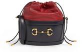 Gucci Leather Morsetto Bucket Bag