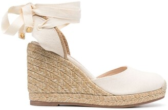 Stuart Weitzman Maguerita wedge sandals