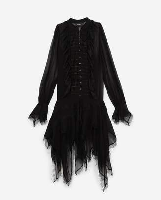 The Kooples Black mid-length party dress