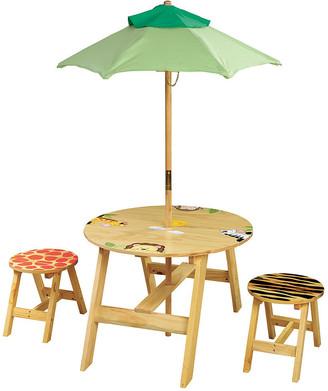 Teamson Kids Fantasy Fields - Sunny Safari Outdoor Table & Set Of 2 Chairs