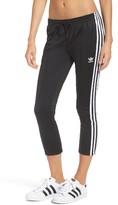 adidas Women's Crop 3-Stripe Sweatpants