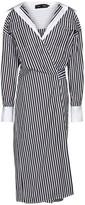 Thumbnail for your product : Proenza Schouler Striped cotton poplin shirt dress