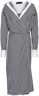 Proenza Schouler Striped cotton poplin shirt dress