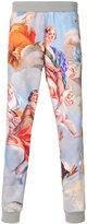 Moschino baroque print sweatpants