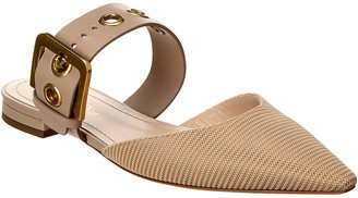 Christian Dior D Leather Flat