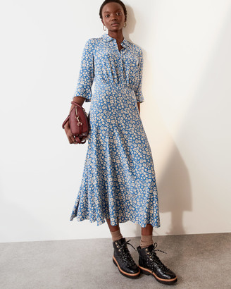Jigsaw Primrose Midi Shirt Dress