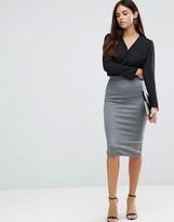 TFNC Striped Pencil Skirt