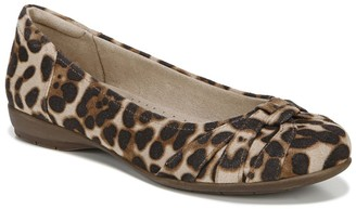 Soul Naturalizer Gift Cheetah Balet Flat - Wide Width Available