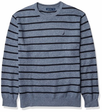 Nautica Men's Sustainably Crafted Crewneck Sweater