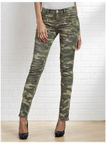 Camo Distressed Skinny Jeans