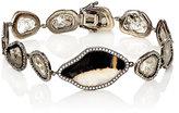 Monique Péan Women's Slice-Link Bracelet-Silver