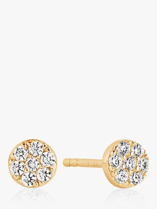 Sif Jakobs Jewellery Cubic Zirconia Small Round Stud Earrings