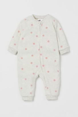 H&M Fleece all-in-one pyjamas