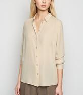 New Look Chiffon Long Sleeve Shirt