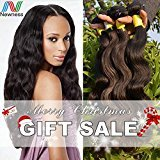 Newness 2017 7A Mink Indian Virgin Hair Extensions Body Wave Human Hair Weave Weave Unprocessed Healthy Mixed Lenghth 4 Bundles