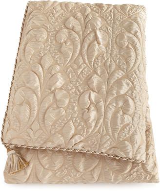 Dian Austin Couture Home Neutral Modern King Damask Duvet Cover