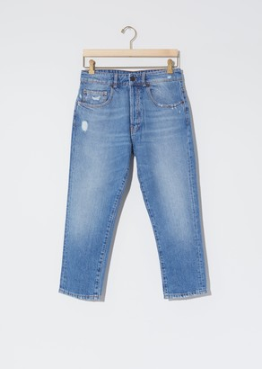 6397 Shorty Jeans Faded Blue