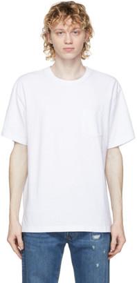 John Elliott White Lucky Pocket T-Shirt
