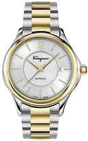 Salvatore Ferragamo Men's Time Automatic Bracelet Watch, 41Mm