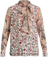 See by Chloe Georgia's Garden-print blouse