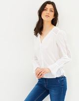 Mng Button Blouse