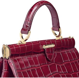 Aspinal of London Florence large embossed leather handbag