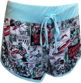 MJC Marvel Comics Captain America Pajama Sleep Shorts for women