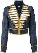 DSQUARED2 cropped band jacket