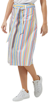 Sugarhill Boutique Jasmine Candy Stripe Belted Skirt, Multi