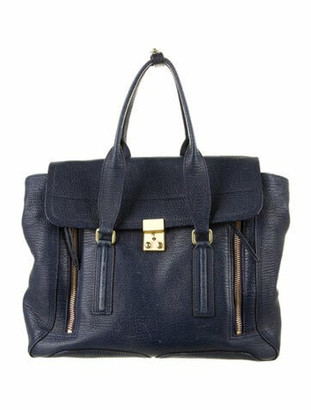 3.1 Phillip Lim Pashli Handle Bag Blue
