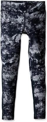 Zobha Women's Cosmo Printed Legging with Mesh Panels