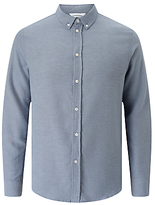 Samsoe & Samsoe Liam Flannel Shirt, Pearl Blue
