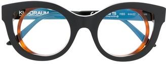 Kuboraum T5 round layered glasses