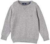 Gant Grey Melange Crewneck Sweater