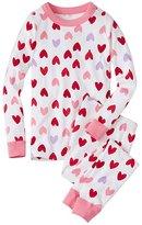 Kids Long John Pajamas In Organic Cotton