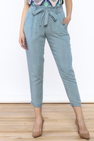 Do & Be Washed Denim Slouch Pants
